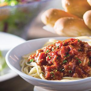 Onalaska Area Restaurants - Olive Garden Pasta and Breadsticks