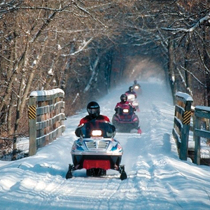 Snowmobile Trail Wisconsin